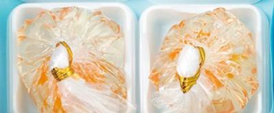 風流堂,〈夏の庭〉という涼菓詰合せ,水あそびをテーマにした上生菓子が2個入っている,ふうりゅうどう,お中元,2021,summer gift,和菓子,