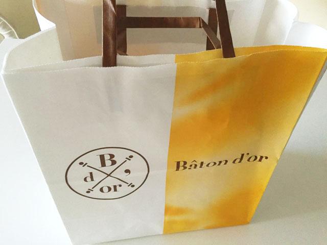 バトンドールクール,バトンドールの紙袋