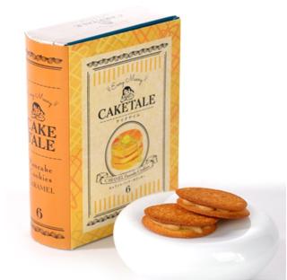 CAKE TALE,ケイクテイル,パンケーキクッキー キャラメル6枚入り,
