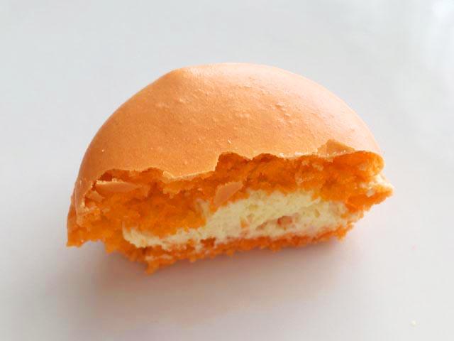 ダロワイヨの宮崎県産キンカンのマカロン,