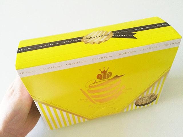 シチリアの塩とレモン味,外装ボックス
