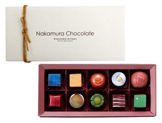 ナカムラチョコレート,オーストラリアン セレクション(10個入),バレンタイン,2020,