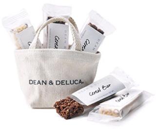 DEAN & DELUCA,ディーンアンドデルーカ,ミニトートナチュラル×シリアルバー5pcs,バレンタイン,2020,