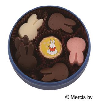 ディック・ブルーナ by モロゾフ,ミッフィーのチョコレート,ミッフィーコレクション,マグネット