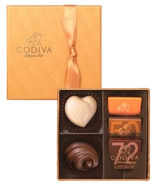 ゴディバ,バレンタイン,2020,ゴールドコレクション,5個入,