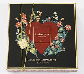 ジャン=ポール・エヴァン,ボンボン ショコラ 16個 フロラのパッケージ,JEAN-PAUL HEVIN,