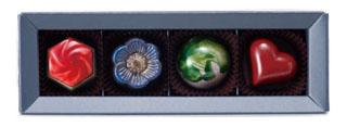 ナカムラチョコレート,ナカムラセレクション,4個入り,バレンタイン,2020,