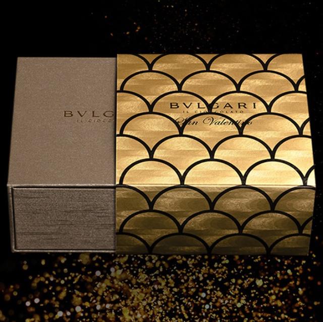 ブルガリ イル・チョコラート,BVLGARI IL CIOCCOLATO,バレンタイン,2021,サン ヴァレンティーノ2021,4個入のゴールドの箱,チョコレート,Valentine,chocolate,