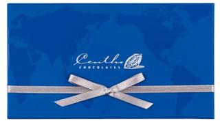 セントー,セントー ワールドセレクション 10の青色の箱,税込2700円,本体価格,500円,バレンタイン,2021,チョコレート,Centho Chocolates,Valentine,chocolate,