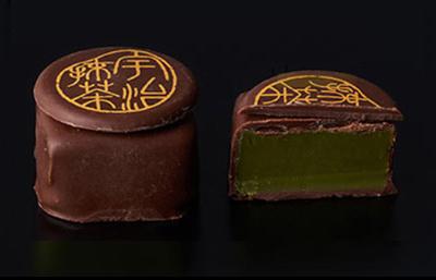 伊藤久右衛門,ショコラコレクション6,ミルクチョコ×抹茶,バレンタイン,2021,お茶のチョコレート,いとう きゅうえもん,Valentine,chocolate,