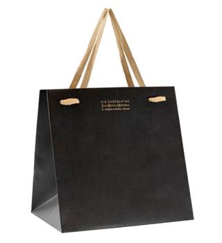 ジャンミッシェルモルトロー,ショッピングバッグ,お渡し用の黒い紙袋,バレンタイン,2021,チョコレート,ジャン=ミッシェル・モルトロー,JEAN-MICHEL MORTREAU,Valentine,chocolate,