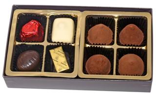 レオニダス,トリュフ&プラリネ MIX 8P,チョコ8個入,バレンタイン,2021,チョコレート,Valentine,chocolate,Leonidas,