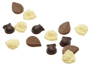 メサージュ・ド・ローズ,ミニローズの中のチョコレート,バレンタイン,2021,メサージュドローズ,MESSAGE de ROSE,チョコレート,Valentine,chocolate,