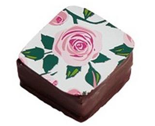 メサージュ・ド・ローズ,プリンセス・ガーデン,薔薇のイラストがプリントされたホワイトチョコ,バレンタイン,2021,メサージュドローズ,MESSAGE de ROSE,チョコレート,Valentine,chocolate,