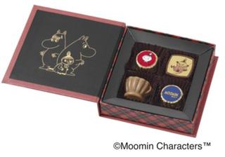 ムーミン × メリーチョコレート,ブックアソートチョコレート(リトルミイ),税込864円,ムーミンのチョコ,Mary's,バレンタイン,2021,チョコレート,Valentine,chocolate,