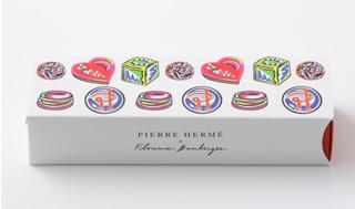 ピエールエルメ,トリュフ アソリュティマンの箱,箱寸=W20×D6×H4.5cm,フロランス・バンベルジェによる限定BOX, バレンタイン,2021,チョコレート,ピエール・エルメ・パリ,PIERRE HERME PARIS,Saint Valentine 2021,Florence Bamberger,