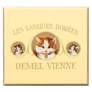 DEMEL(デメル),ソリッドチョコ猫ラベルスウィート,ホワイトデ―,2019