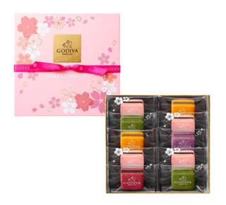 GODIVA,サブレショコラ 桜(10個入),ホワイトデ―,2019