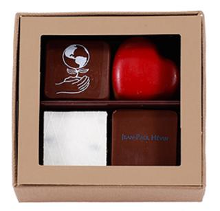 ジャン=ポール・エヴァン,ボンボン ショコラ 4個 テール,JEAN-PAUL HEVIN,ホワイトデー,2020,