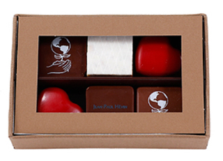 ジャン=ポール・エヴァン,ボンボン ショコラ 6個 テール ,JEAN-PAUL HEVIN,ホワイトデー,2020,