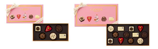 ゴディバ,ティータイム セレクションの6粒入と21粒入,ホワイトデー,2021,チョコレート,GODIVA,Whiteday,chocolate,