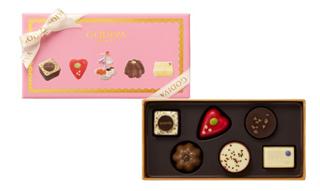 ゴディバ,ティータイム セレクション 6粒入,税込2700円,ホワイトデー,2021,チョコレート,GODIVA,Whiteday,chocolate,