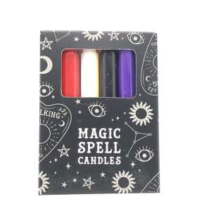 "bougies mixtes ""Magic Spell"""