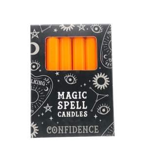 "bougies oranges ""Magic Spell"" de confiance"