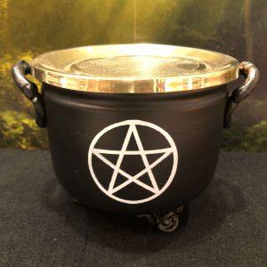 Encensoir résine pentagramme