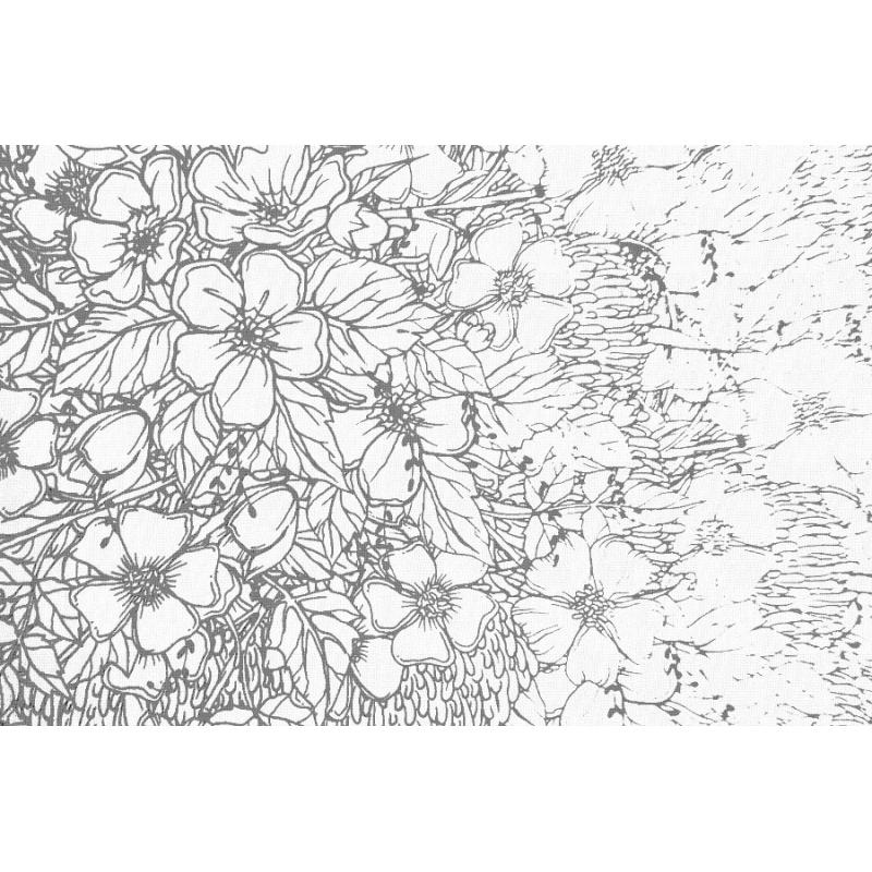 Coloriage Adulte Fort En 20 X 20cm Les Papiers De Lucas