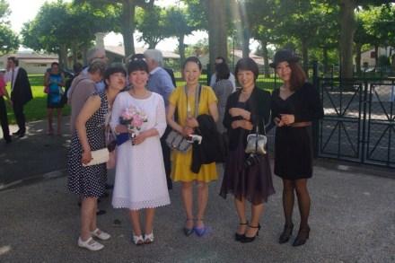 les amies japonaise