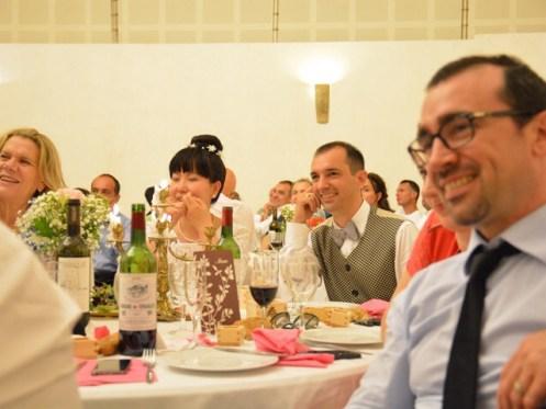 la table de la mariés