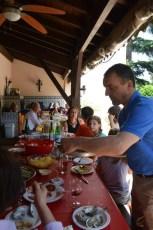le déjeuner de la famille