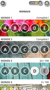 Jardin Des Mots Monde 4 : jardin, monde, Jardin, Solution, Complète