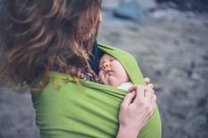portage bébé apaise