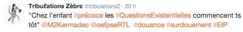 Ados : être surdoué, ce n'est pas un cadeau ! (RTL, octobre 2015)