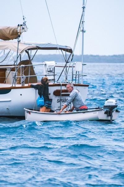 sécurité en mer dans une annexe