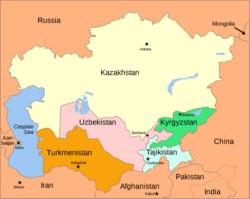L'intégration régionale en Asie centrale ralentie au début des années 2000 semble être au nouveau sur l'agenda des cinq États.