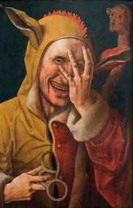 le fou riant de Jacob Cornelisz Van Oosteem