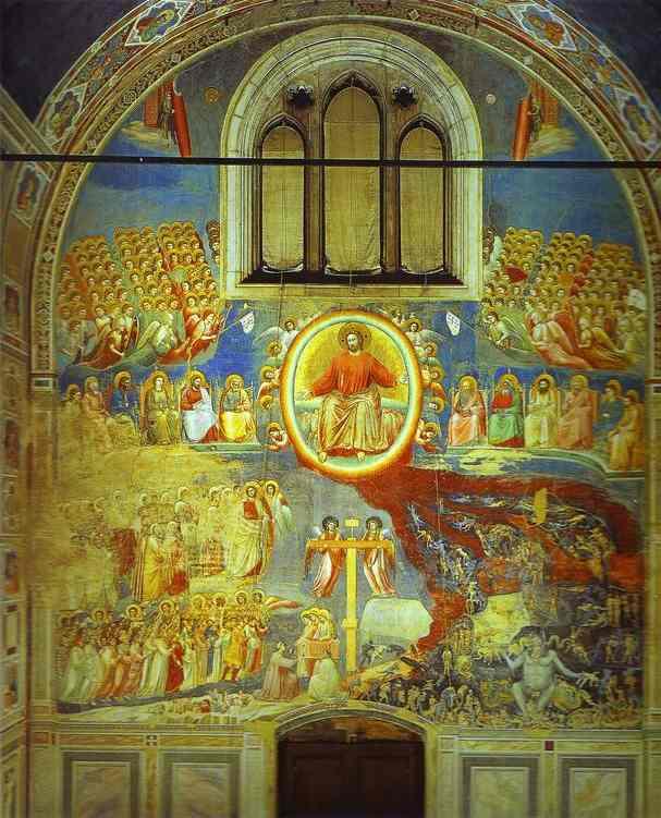 Le Jugement Dernier Fresque De Giotto : jugement, dernier, fresque, giotto, Giotto, Galerie, Chapelle, D'arène,, Padoue,, Italie