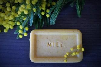 savon miel tout doux mimosa