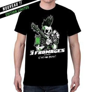 T-shirt homme « C'est pas punk »