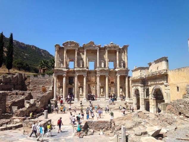 La bibliothèque de Celsus...