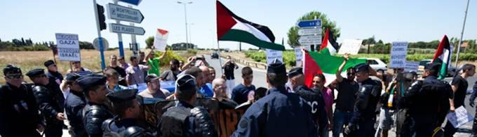 JOUR5: La lutte se poursuit sur tout le sol palestinien. Les peuples lèvent le poing face aux agresseurs israéliens