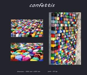 Tableau confettis - Les adobes