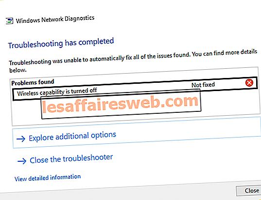 Windows 10でWiFiアイコンがグレー表示されるのを修正
