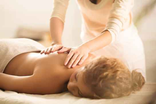 Massages and spa treatments