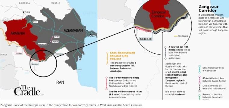 La dispute Iran-Azerbaïdjan est une compétition pour les corridors de transport de la région