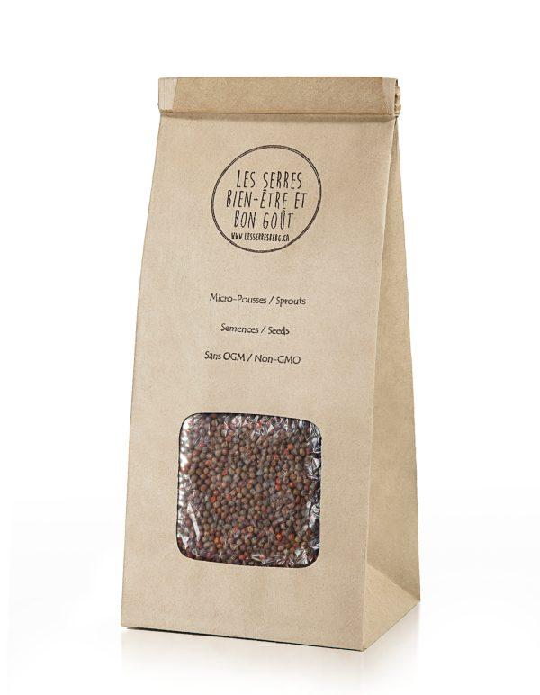 Nos semences de Chou Frisé ( Kale ) biologiques et sans OGM, vous pouvez maintenant vous les procurer en plusieurs formats et faire vos pousses à la maison.