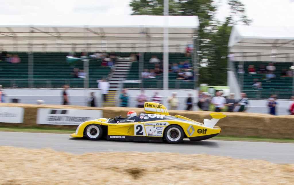 L'Alpine A110 sur la piste du Festival of Speed de Goodwood 1